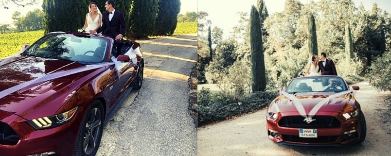 location voiture mariage provence