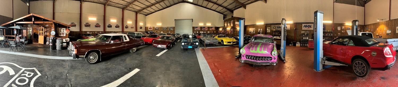 garage vue panoramique